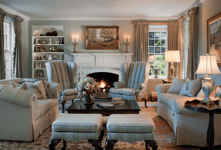 Living Room Cozy Cool Decorating Ideas
