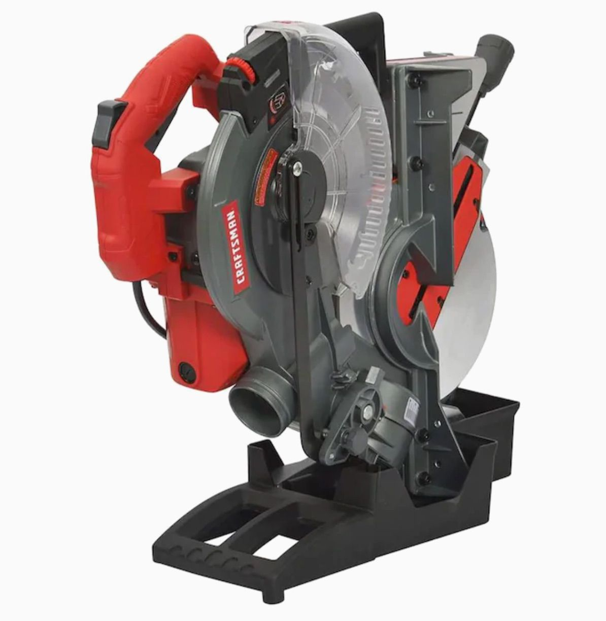 Craftsman 10-in 15-Amp Single Bevel Folding Compound Corded Miter Saw