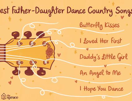 Modern Father Daughter Wedding Dance Songs