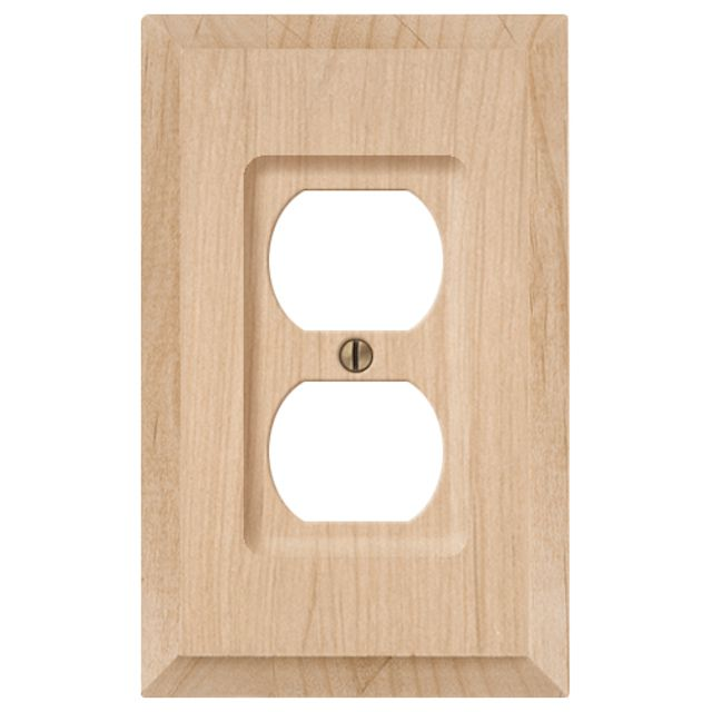 Wood outlet cover