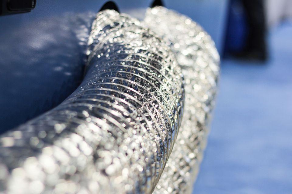 Flexible aluminum air ducting