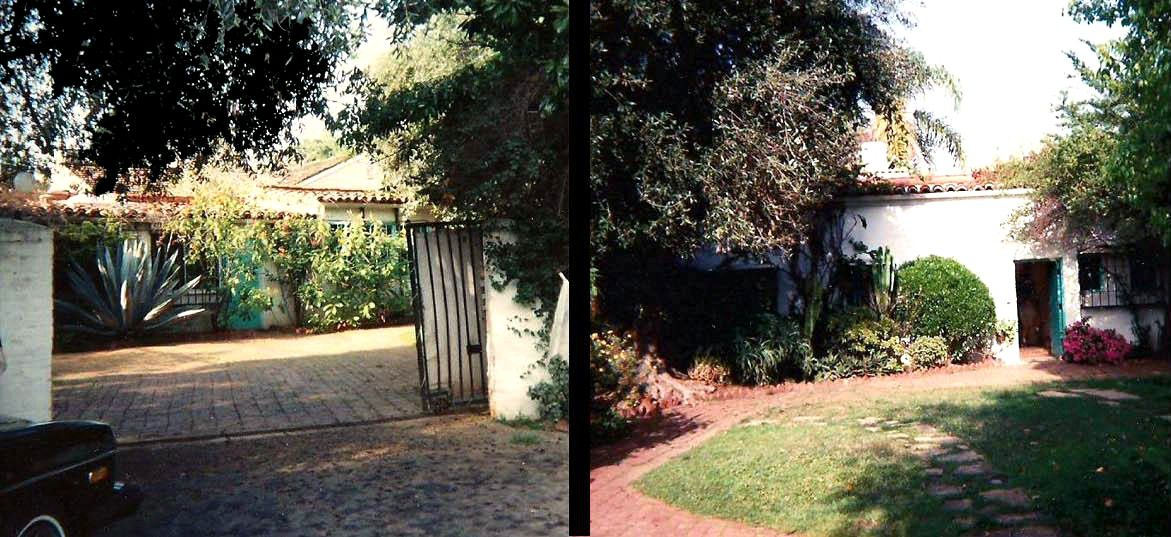 Monroe's home at 12305 Fifth Helena Drive in Brentwood