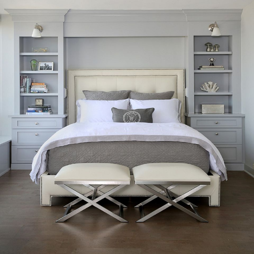 Small Bedroom Big Heart And Lots Of Storage: Small Master Bedroom Design Ideas, Tips And Photos