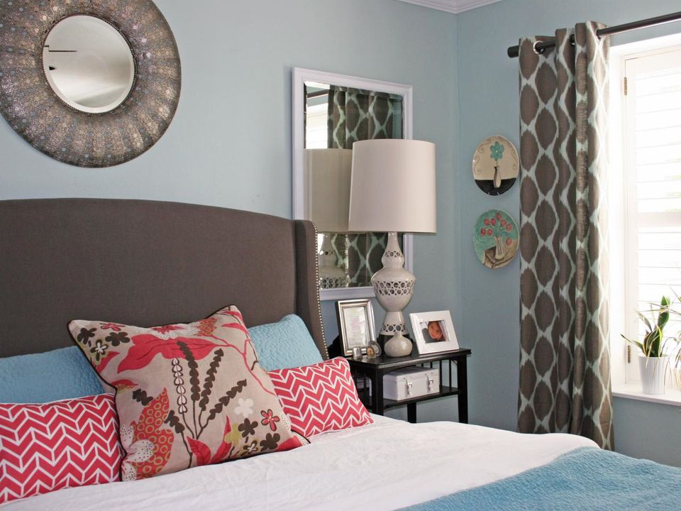 Inspiration For Decorating Red White And Blue Bedrooms