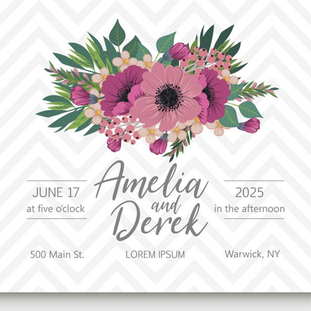 Places To Print Wedding Invitations: 9 Top Places To Find Free Wedding Invitation Templates