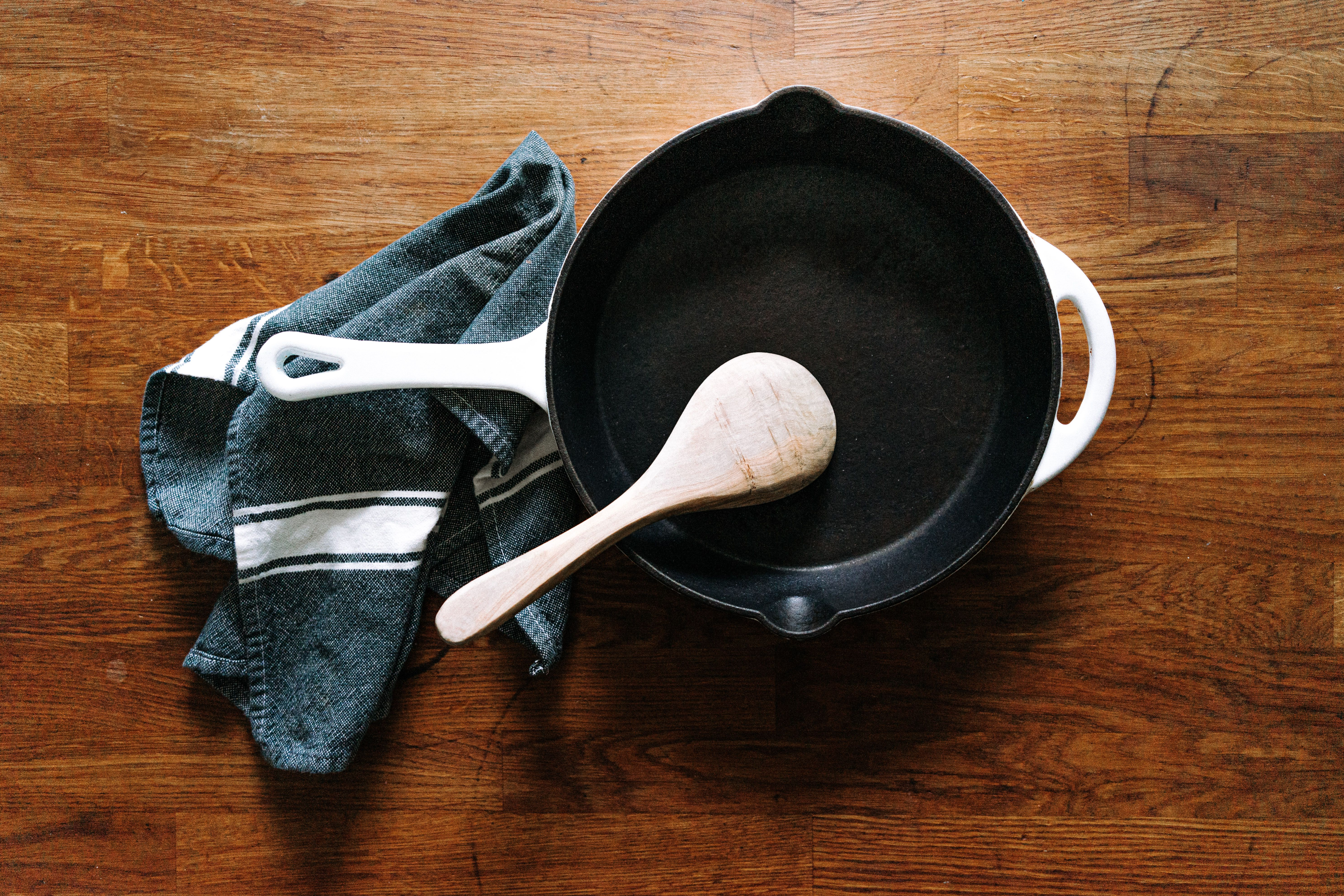 This is The Right Way to Clean a Cast Iron Skillet