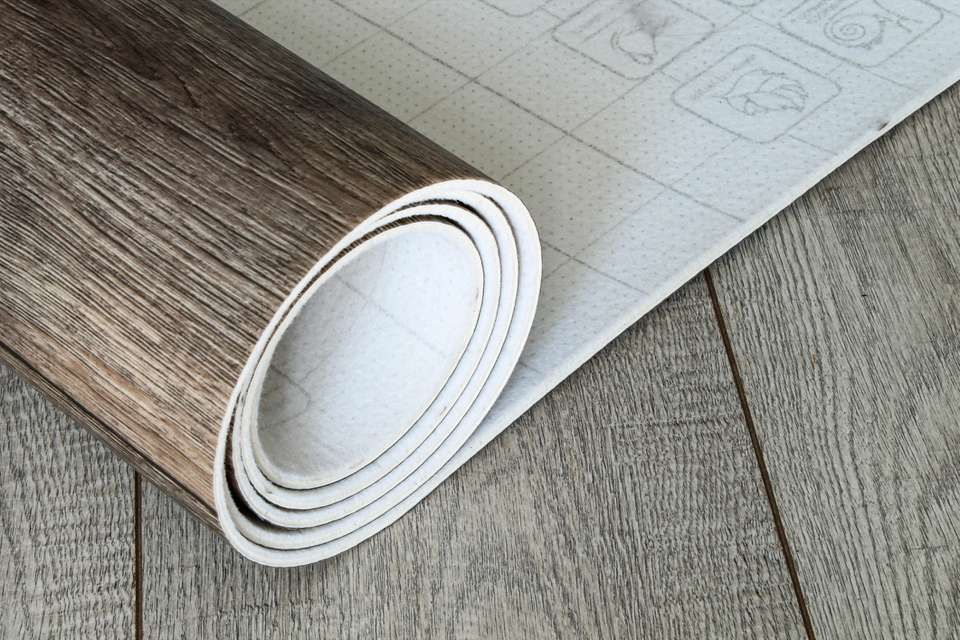 Roll of Vinyl Flooring