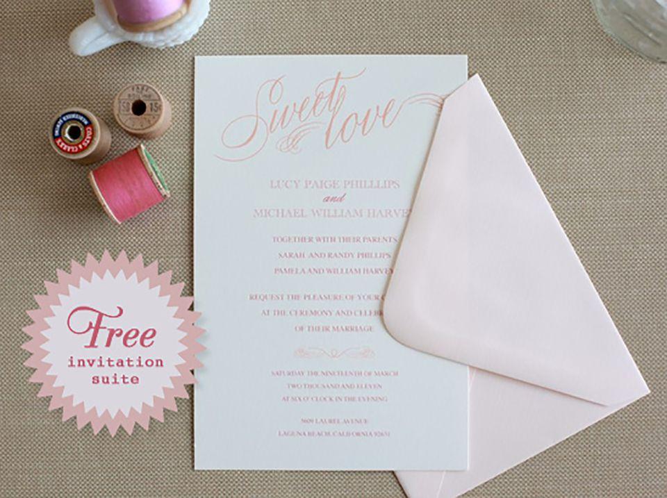 25 free printable wedding invitations free printable wedding invitations solutioingenieria Gallery