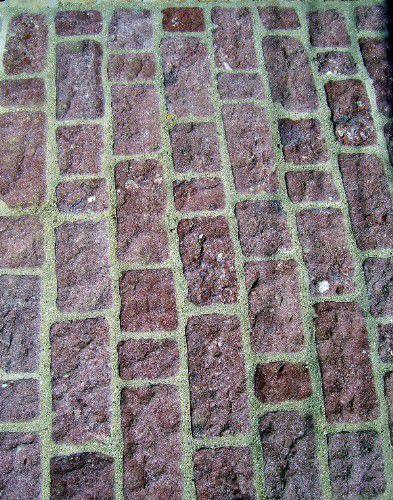 ladrillos rústicos para pavimentar patios