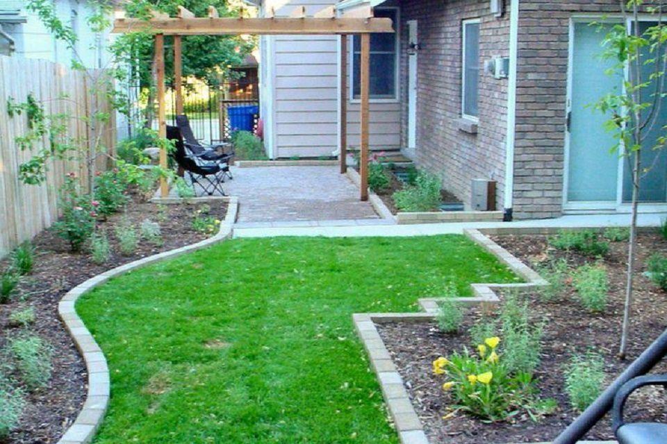 Transformación del patio trasero de la calzada - Después