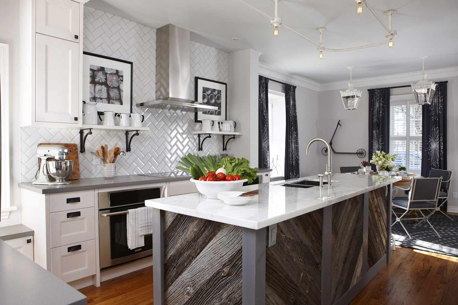 rustic-quartz-kitchen-island
