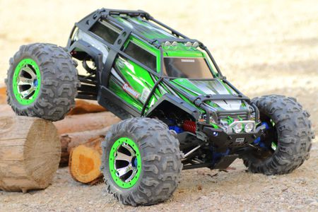 Four Wheel Drive Remote Controlled Car
