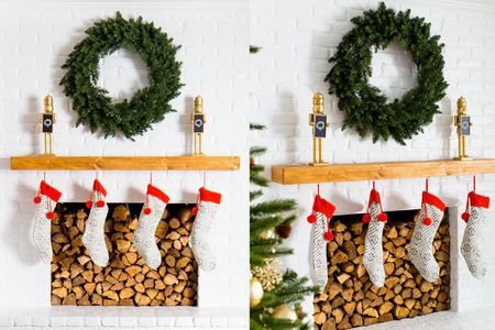 simple christmas decorations stylish holiday mantel ideas