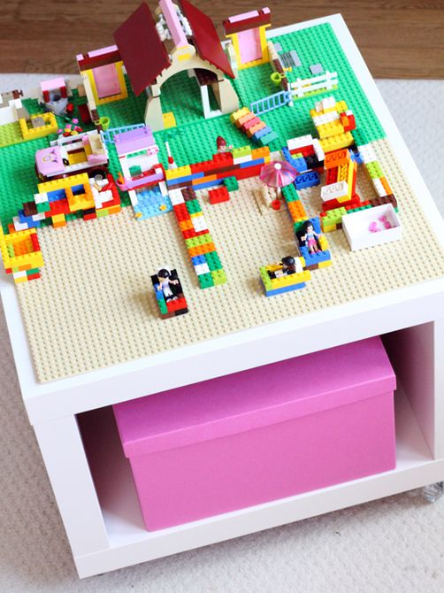 Mini Lego Play Table Ikea
