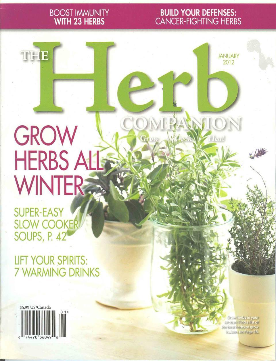 The Herbal Companion magazine