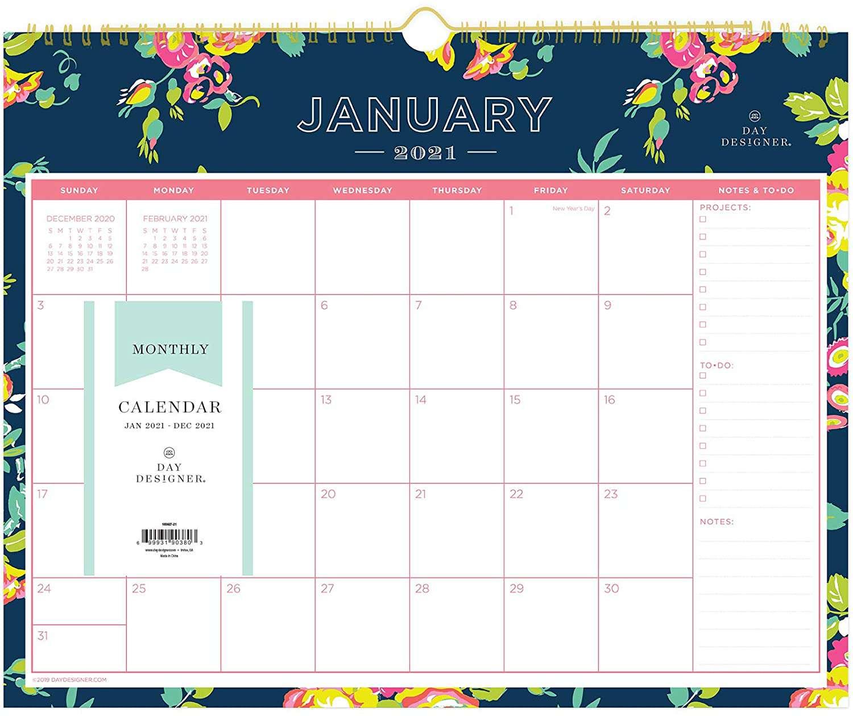 2021-2022 Blue Sky Wall Calendar