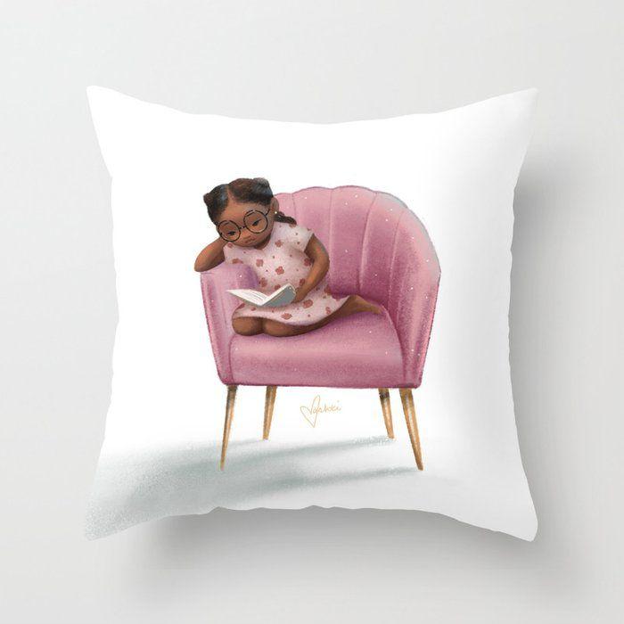 'Dream Chair' Throw Pillow