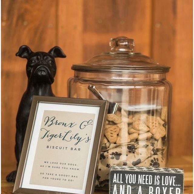 Wedding Favor Dog Treats