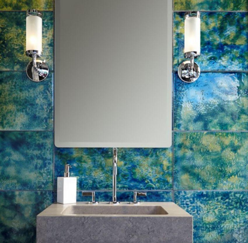 Azulejo de aura de baño de Ann Sacks