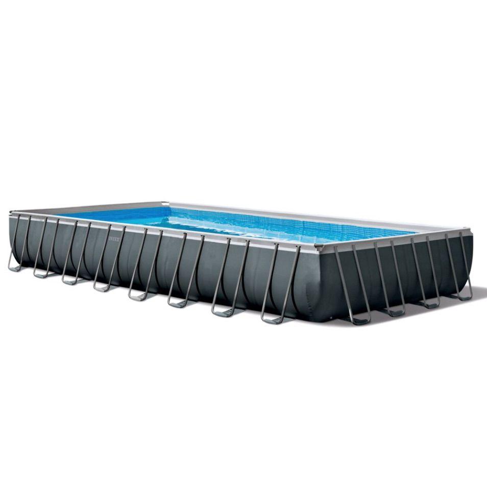 Ultra XTR Rectangular Above Ground Frame Swimming Pool Set