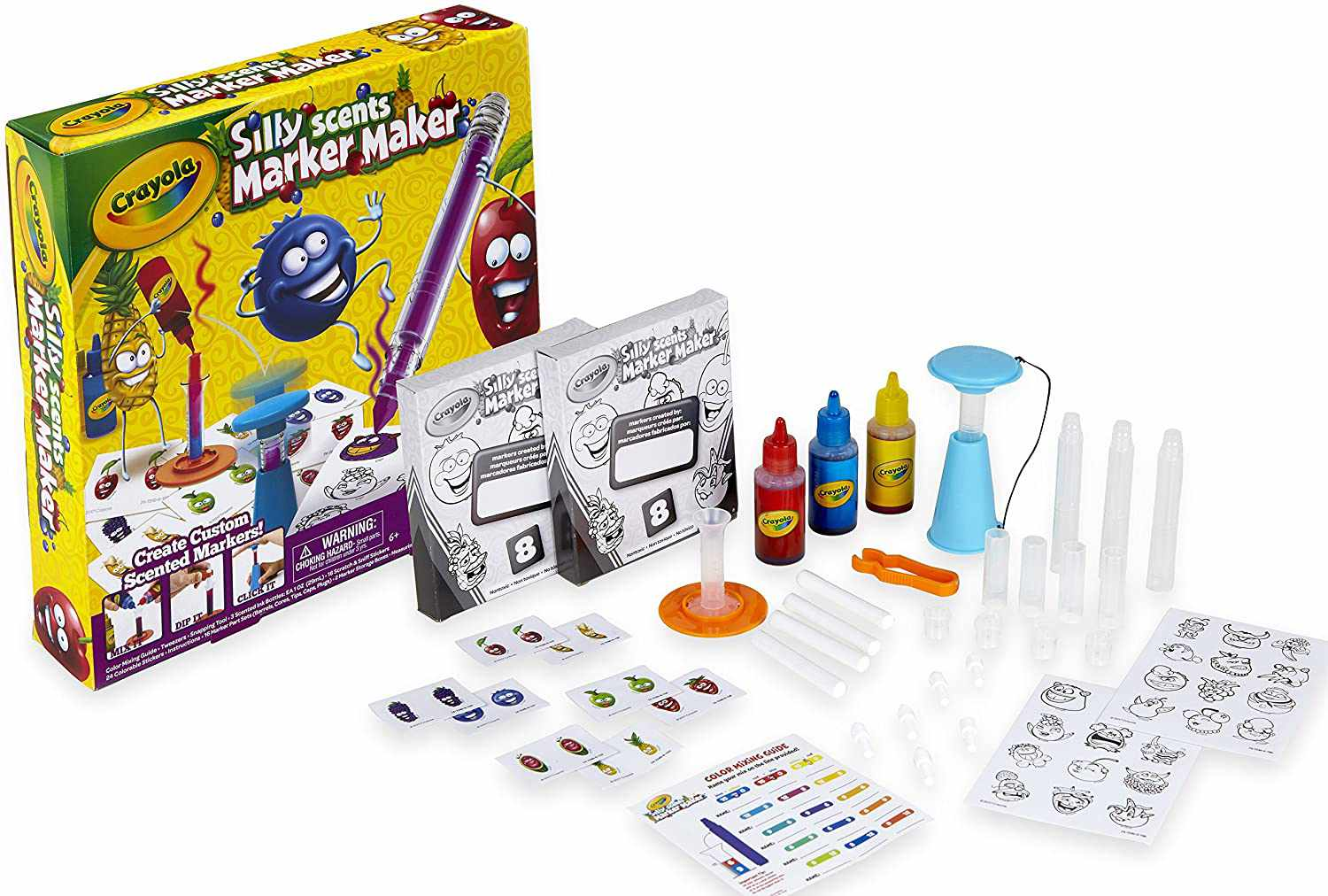 Crayola Silly Scents Marker Maker, Scented Markers