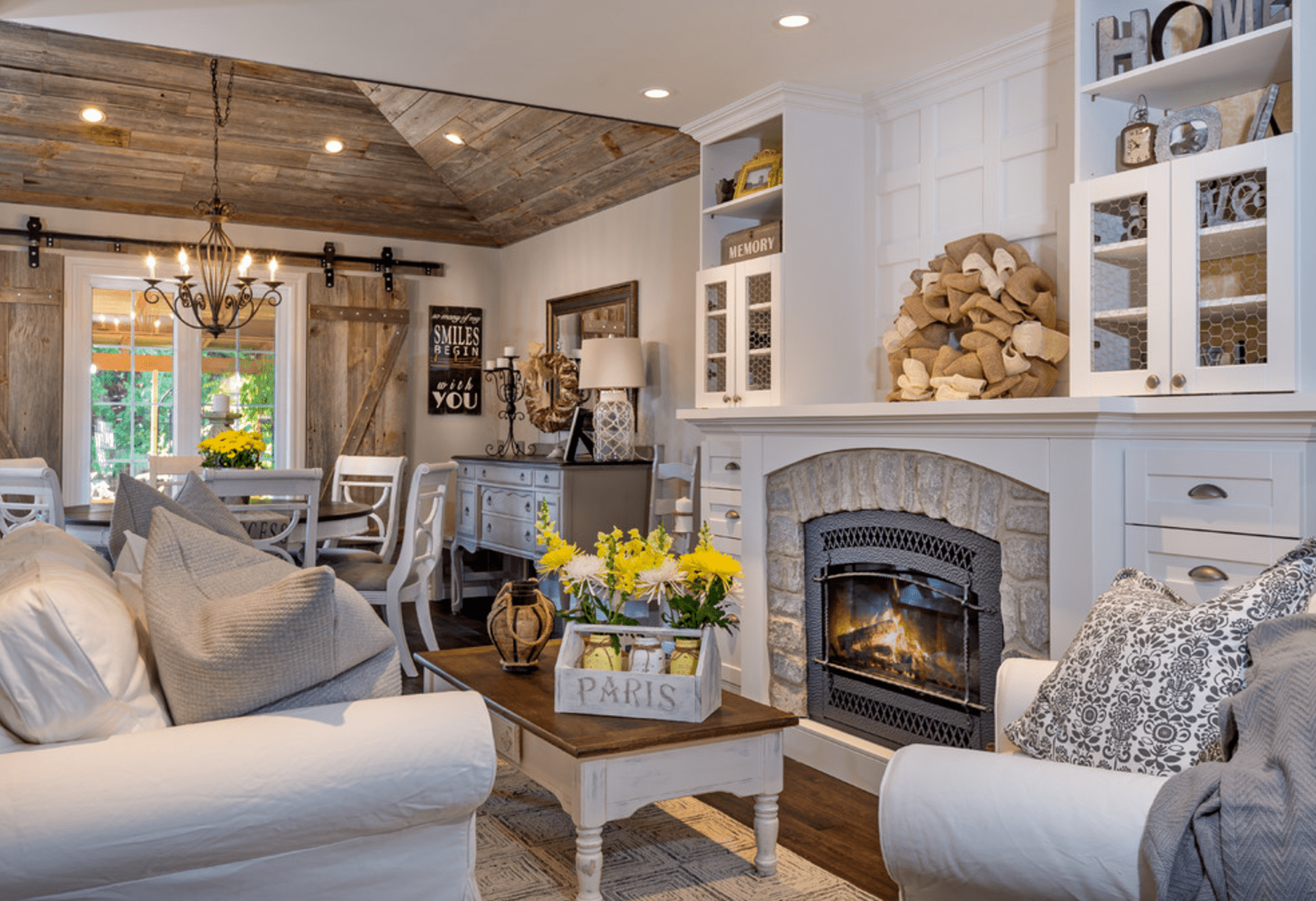 14 Farmhouse Style Living Room Tips
