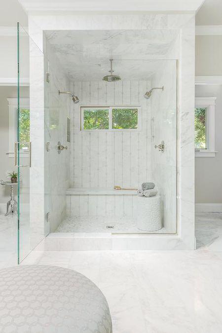 Delicate Tile Shower