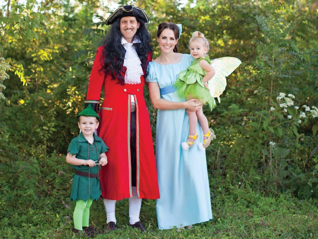 Peter Pan Family costume