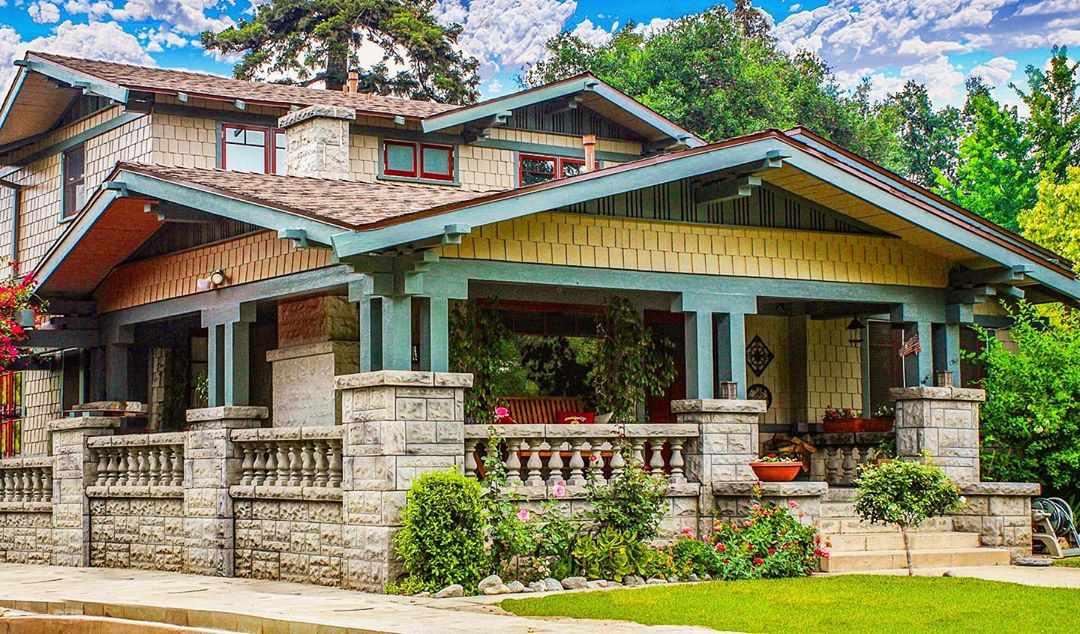 Un hogar de artesano colorido