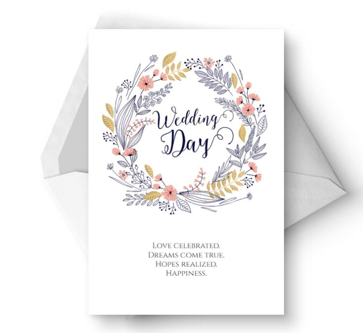 Free, Printable Wedding Cards That Say Congrats
