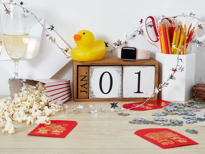 calendar marked Jan. 1