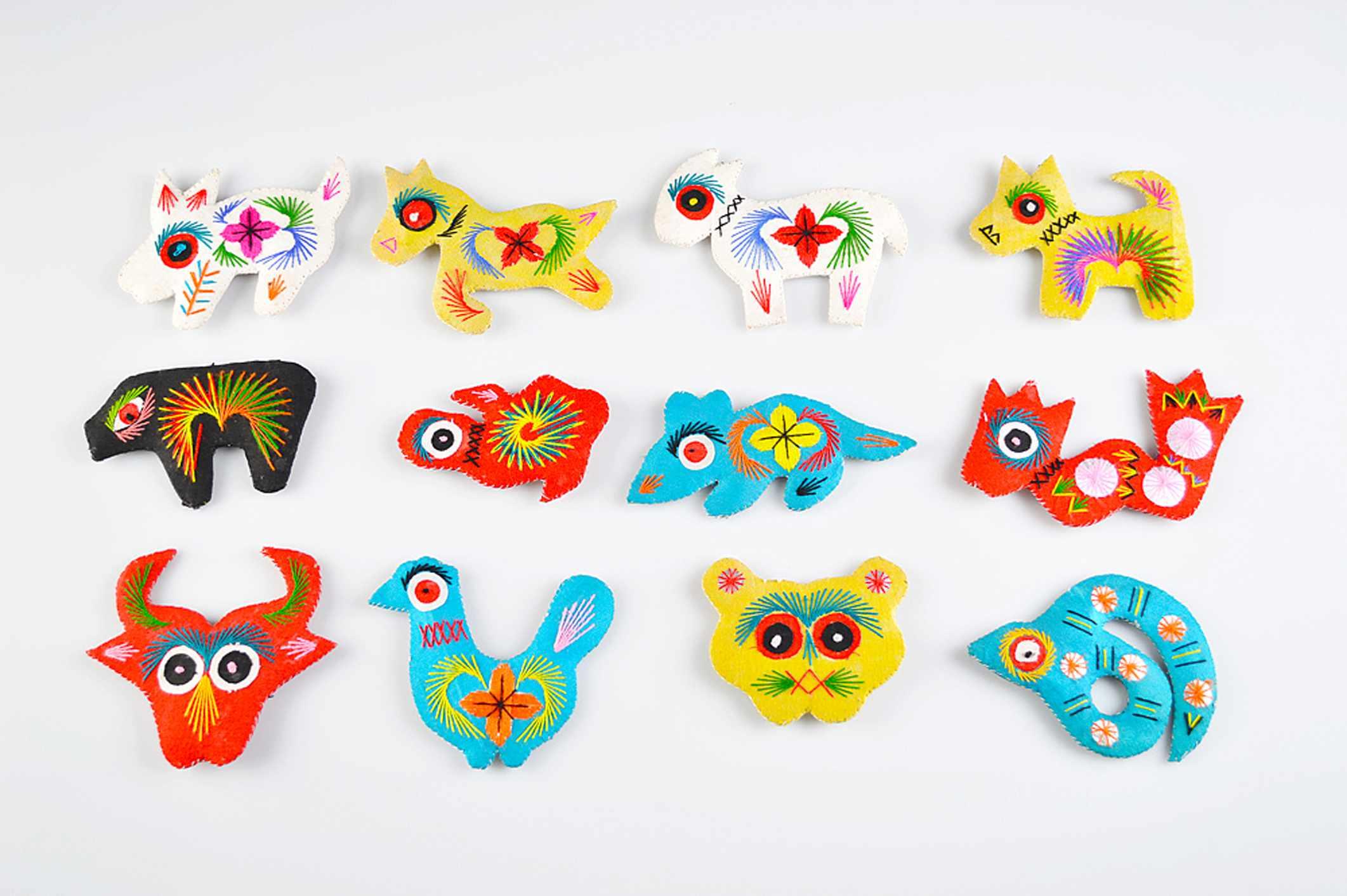 Chinese zodiac animal charms