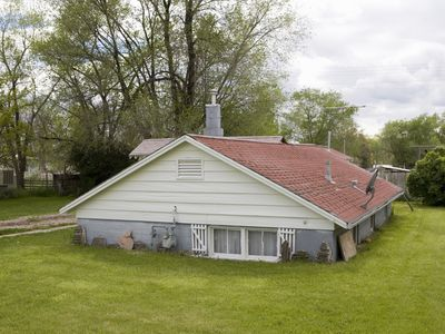 Sunken house