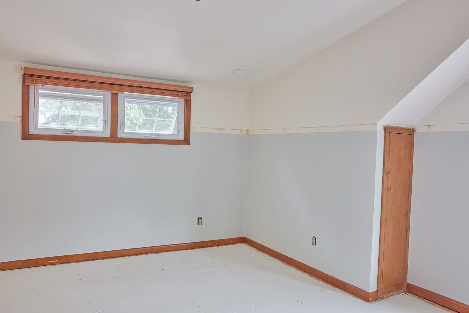 Remove all furniture before painting