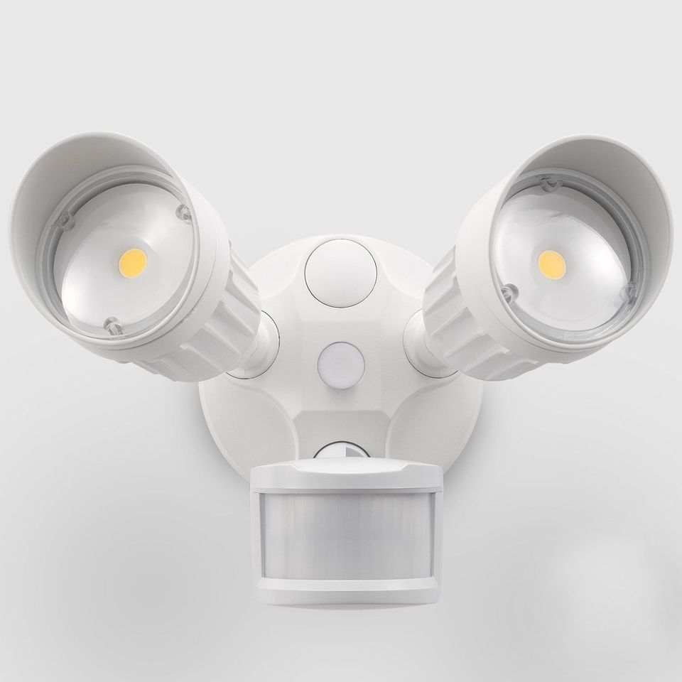 20W Dual-Head Motion Activated LED Outdoor Security Light 0f49e5593b08