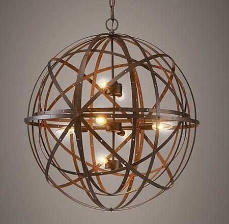 Orbital Sphere Pendant