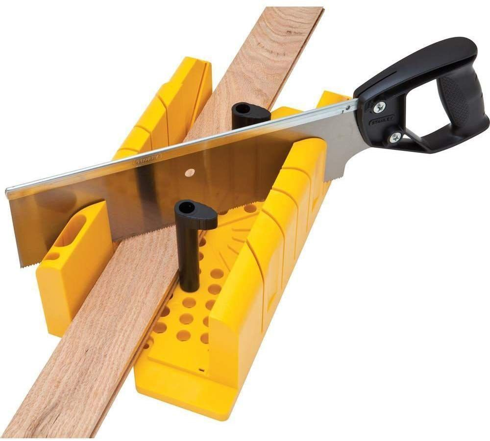 Stanley Clamp Miter Box and Saw