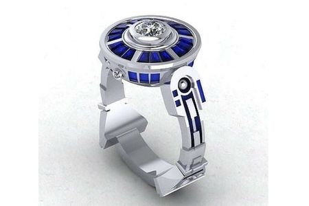 Star Wars Inspired Engagement Rings
