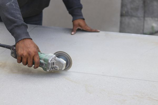 Cutting Cement Backer Board With a Grinder