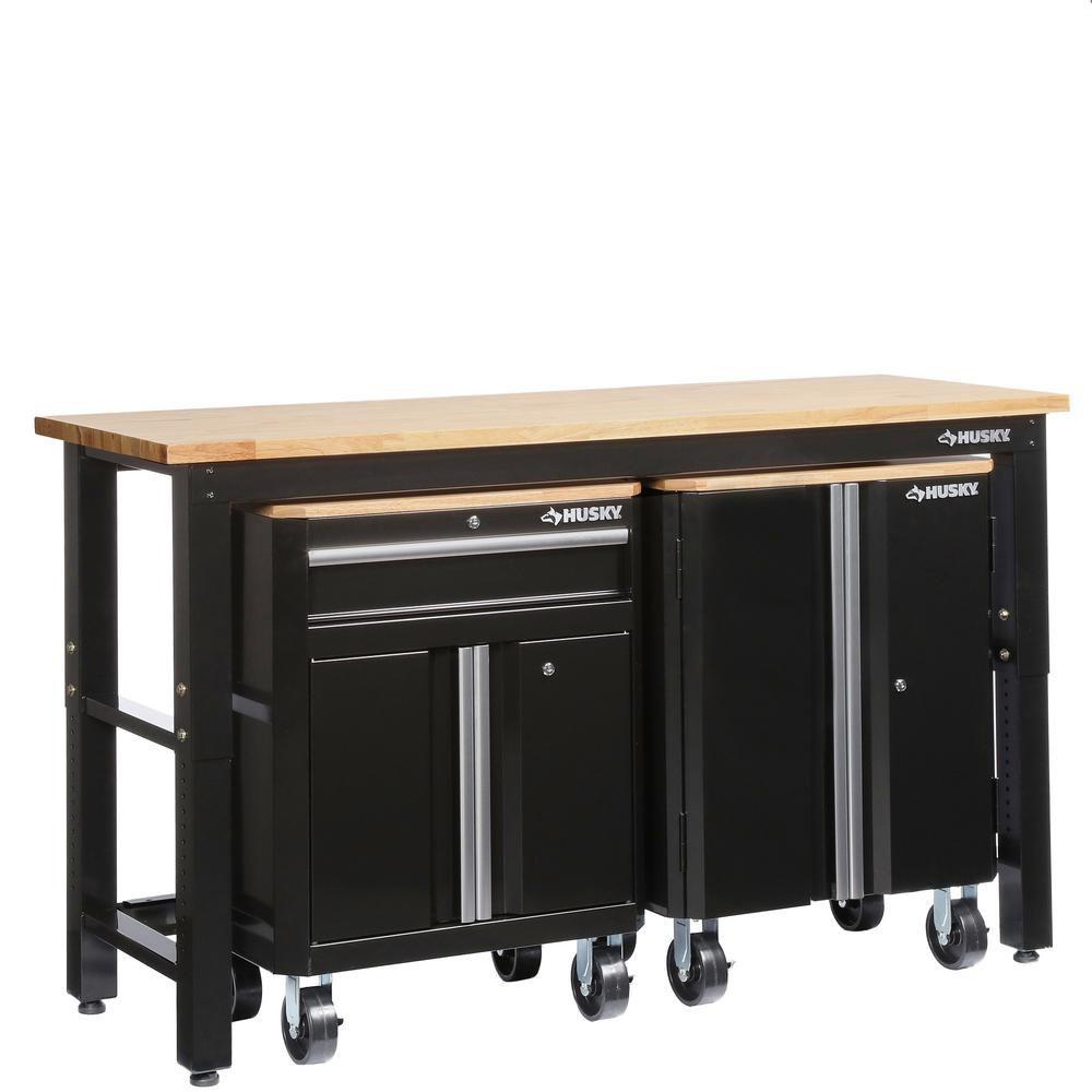Husky Steel Garage Cabinet Set