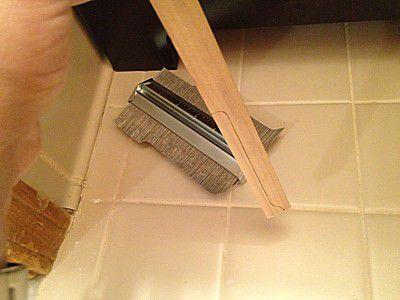 install a bathroom vanity sink