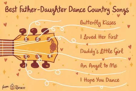 Best Wedding Dance Songs.Country Songs For Father Daughter Dances