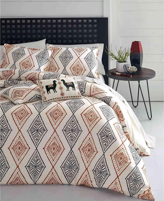 Azalea Skye Cusco Rhombus 3-Piece Reversible Duvet Cover Set