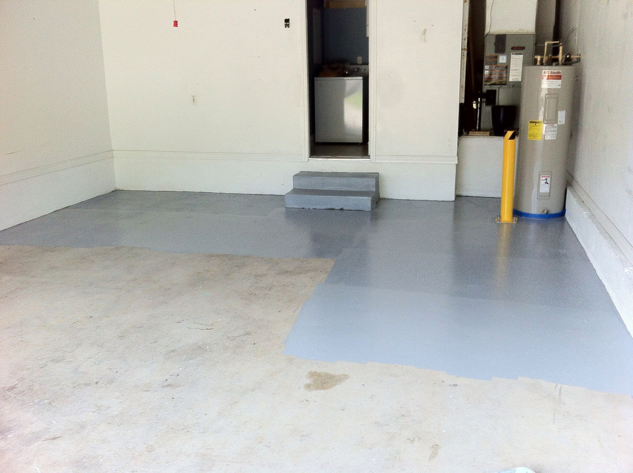 How To Prep A Garage Floor And Ly Epoxy