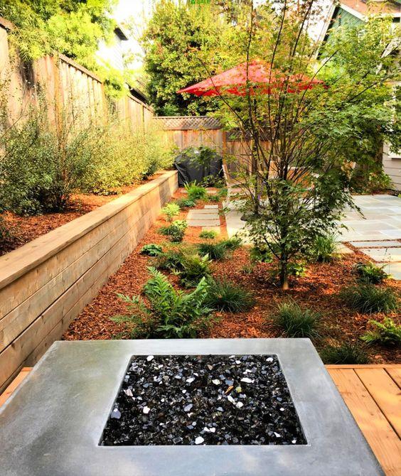jardines pequeños organizados