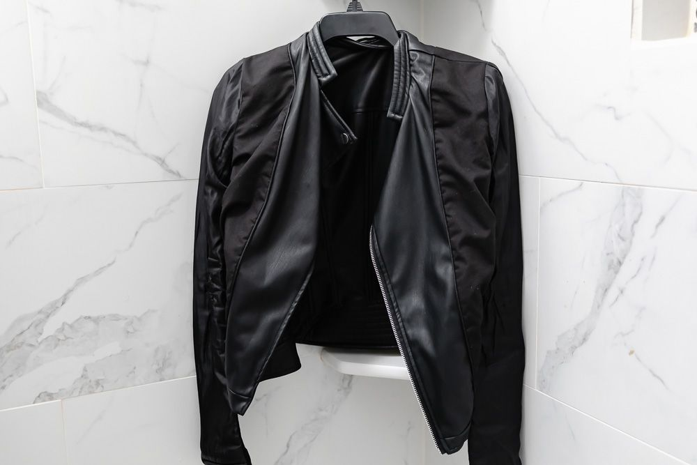 air-drying faux leather