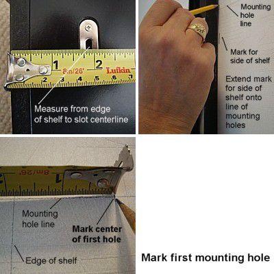 Измерение монтажного отверстия