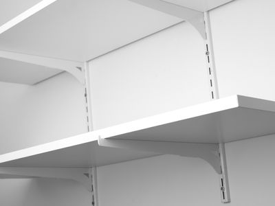 Installing Wall Shelves Using Standards and Brackets