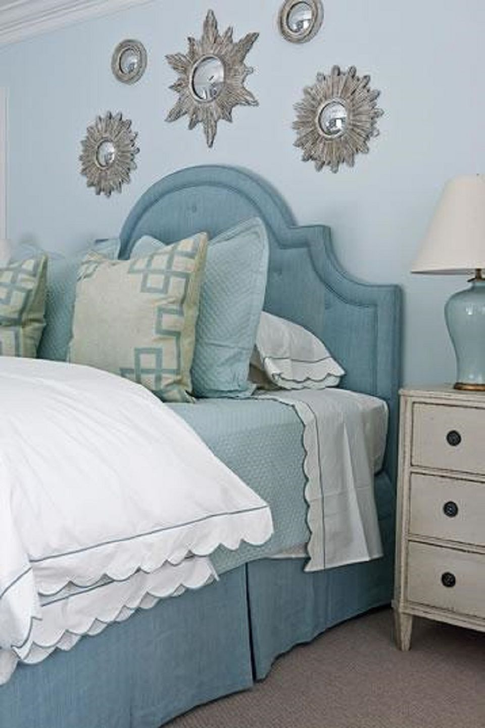 Baby Bedroom Ideas Blue: 25 Stunning Blue Bedroom Ideas