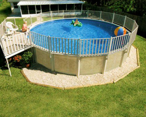 Above ground swimming pools designs shapes and sizes for Pool design 1970